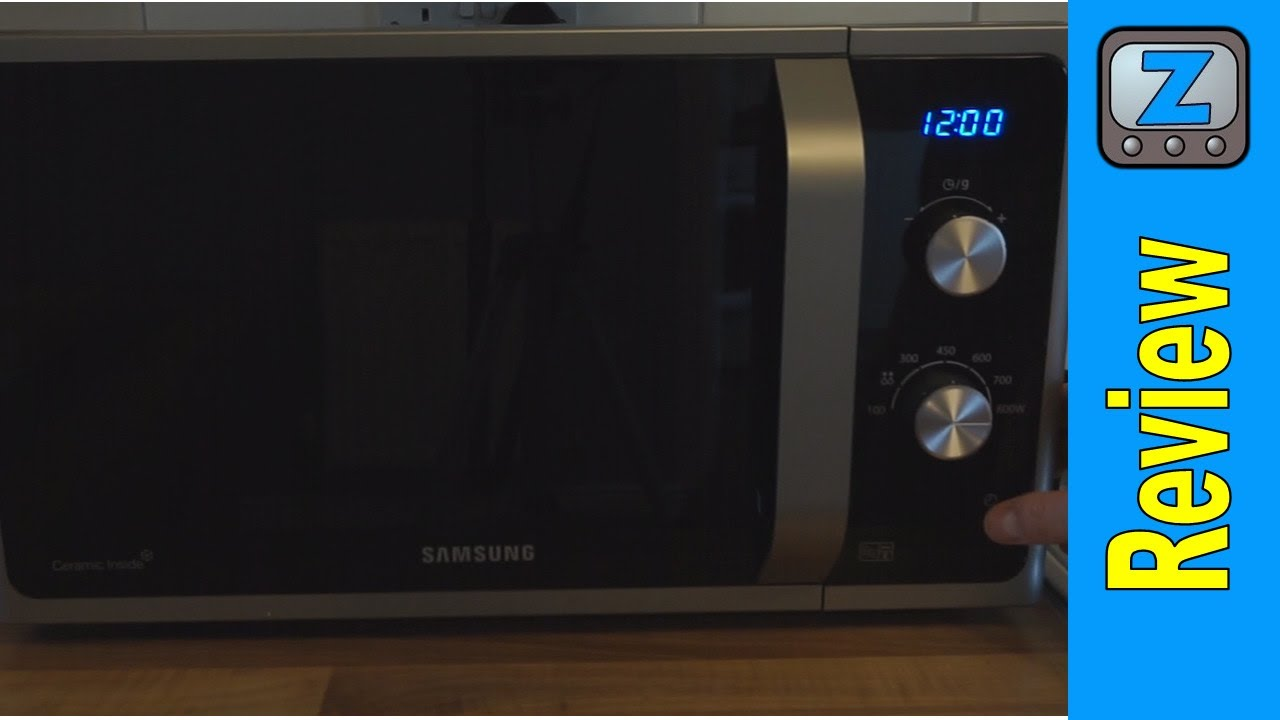 samsung ms23f301eak solo microwave oven manual