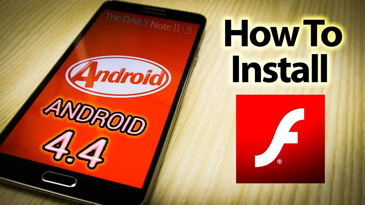 flash player manual download android