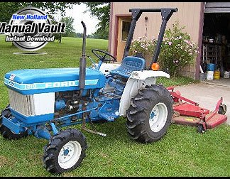 ford 6600 tractor service manual download