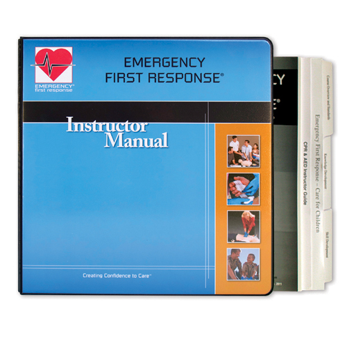 emergency first response instructor manual download
