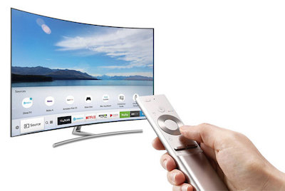 how to turn on samsung smart tv manually