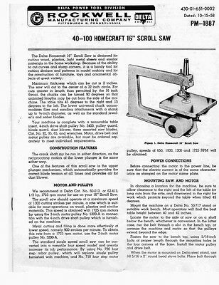 rockwell 9 table saw model 34 580 manual